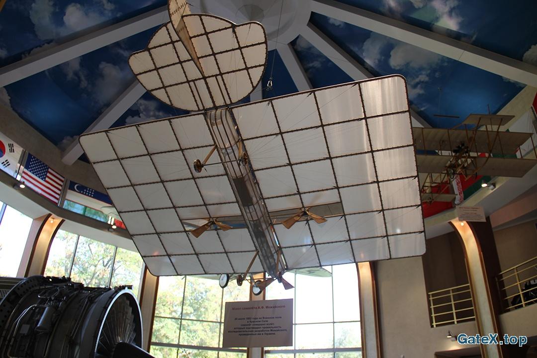 Макет самолета Можайского