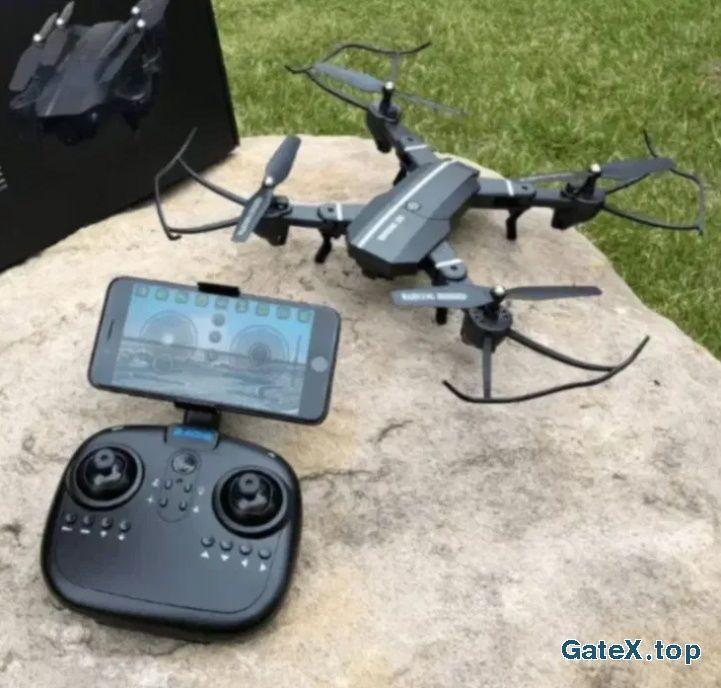 Квадрокоптер RC Дрон з WiFi камерою - складаний корпус