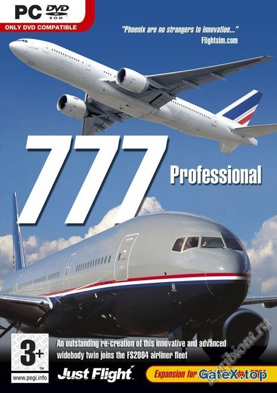 Тренажер пилота - Boeing 777 professional