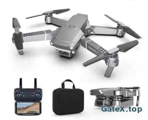 Подарок на НГ! Складной квадрокоптер дрон DRONE 2 1080P с WiFi камерой