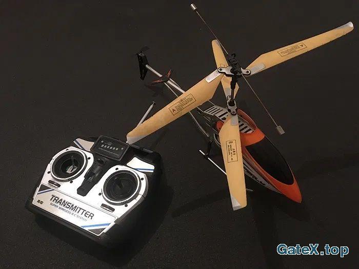 Вертолет на радиоуправлении RC Perly Avant Courier