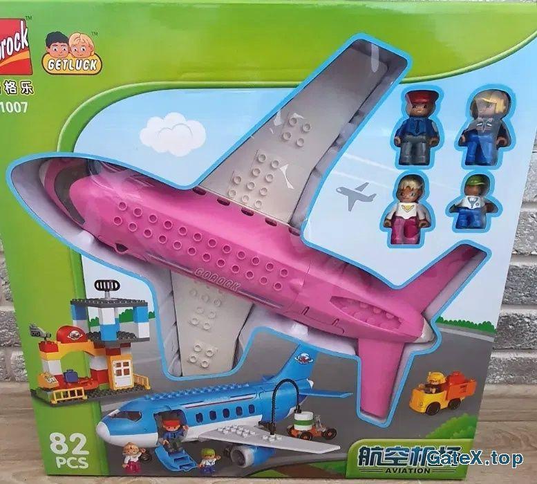 Гламурный самолёт для девочек