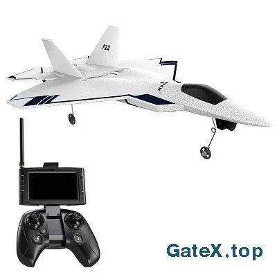 """Самолет с HD камерой GPS и FPV передача видео """"Hubsan F22 Pro"""""""