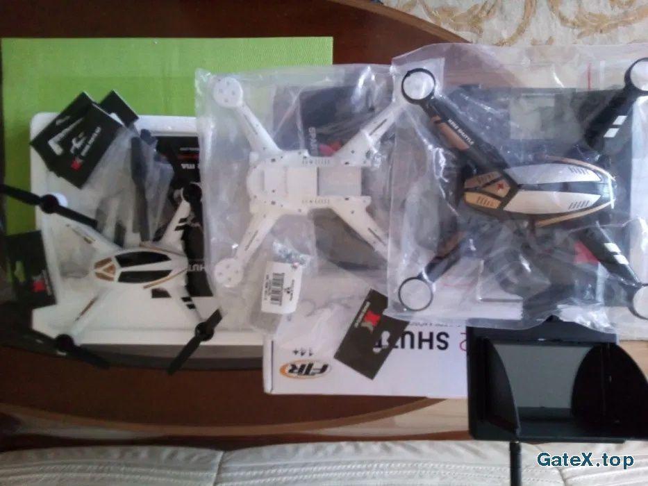 Р/у 3D 5.8G FPV квадрокоптер XK X252 с камерой + комплект запчастей