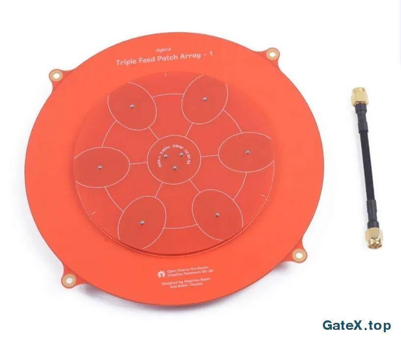 Патч-антенна для FPV Triple Feed Patch Array-1