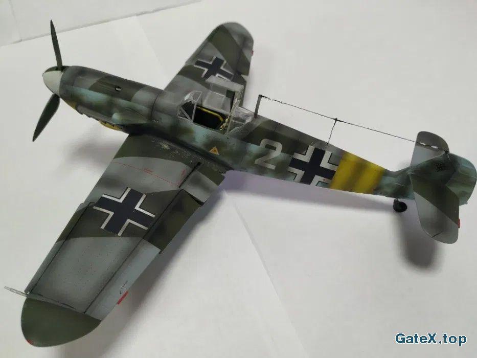 Модель самолета Messerсshmit Bf-109 (ICM)