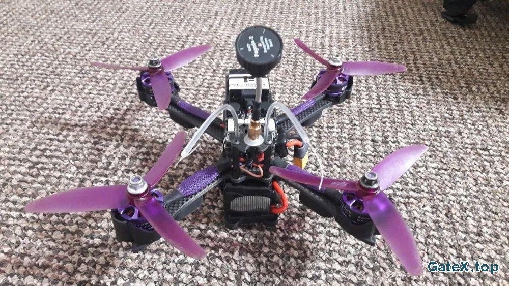 FPV квадрокоптер 210мм