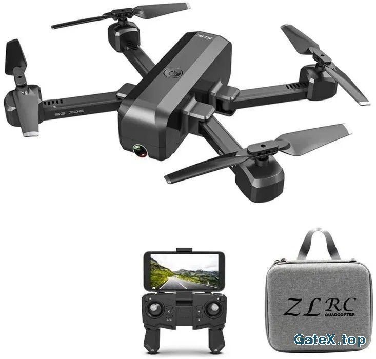Дрон SG706 1080P двойная камера + сумка