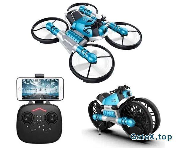 Дрон-трансформер QY Leap Speed PRO мотоцикл 2 в 1