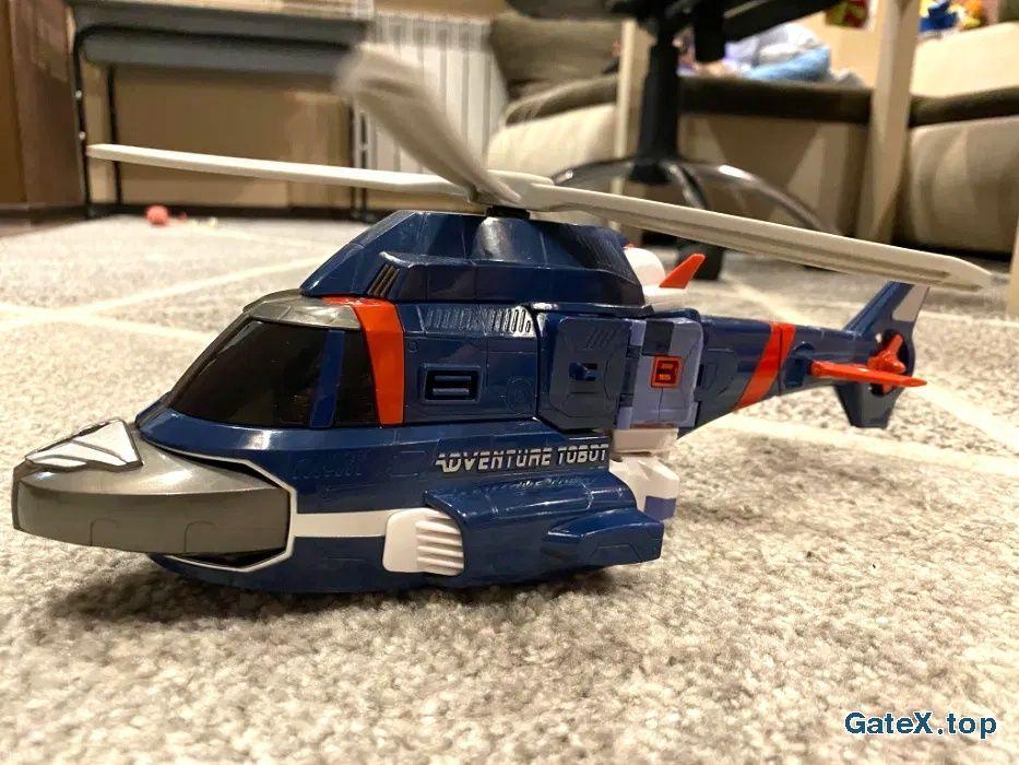 Робот трансформер вертолет