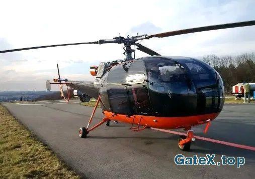 Лёгкий многоцелевой вертолет Alouette - M III