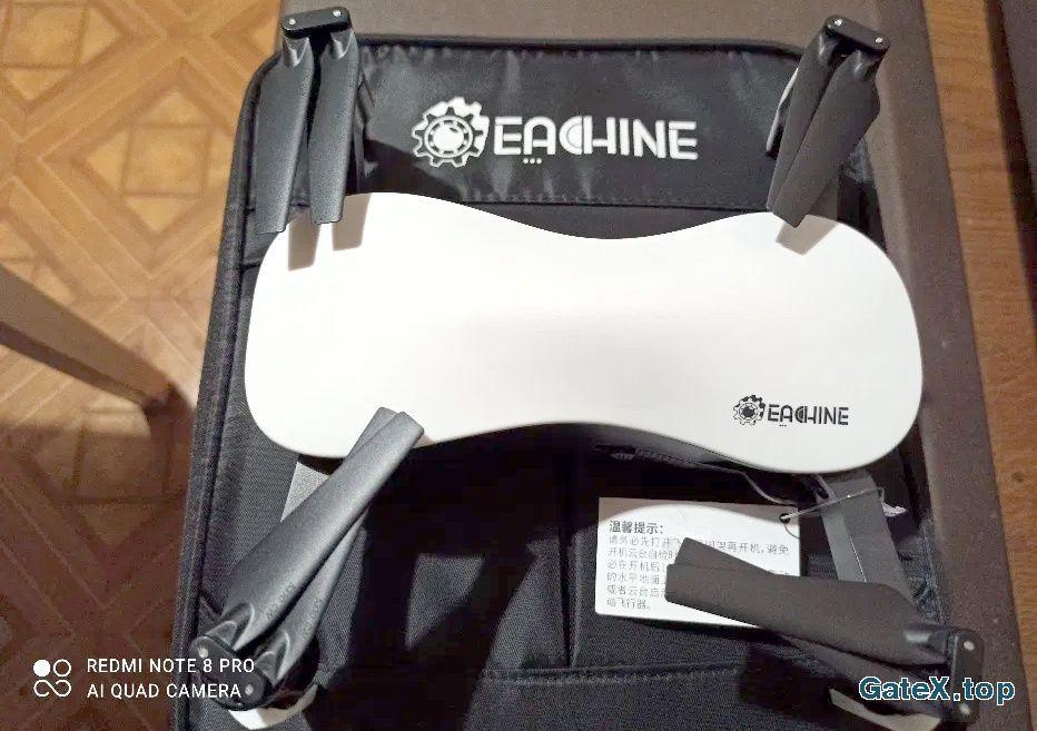 Eachine EX4, 4K, 3-Осевой стаб.камеры.