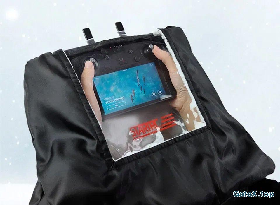 Ветрозащитный чехол сумка для удобного управления дроном зимой