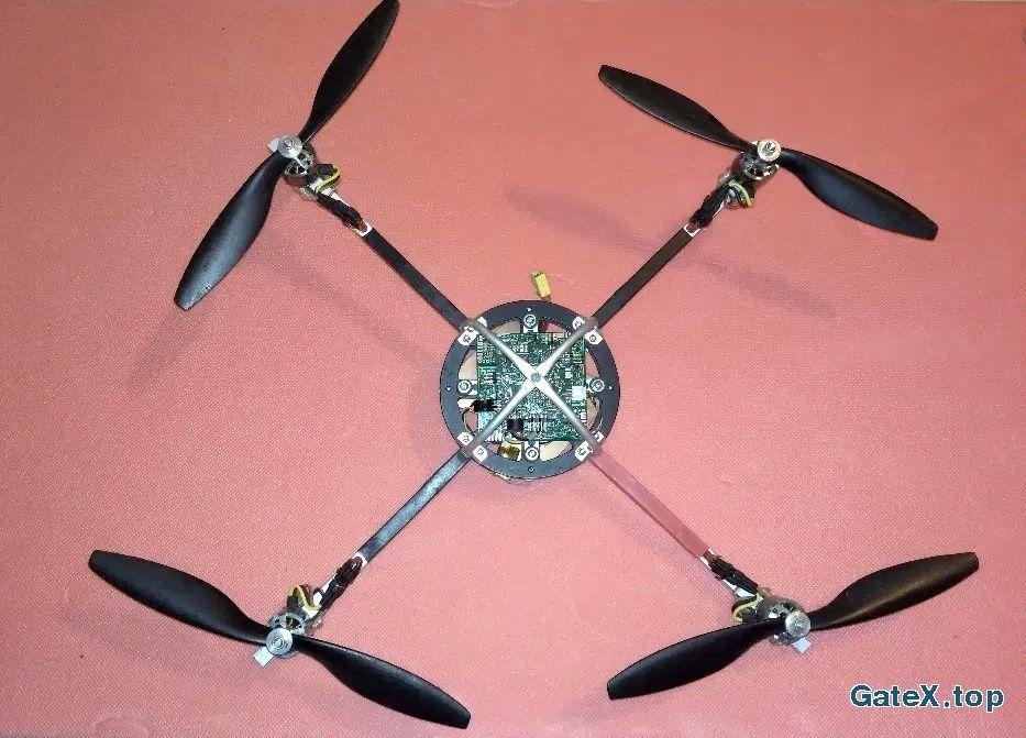 квадрокоптер на основе электроники mikrokopter
