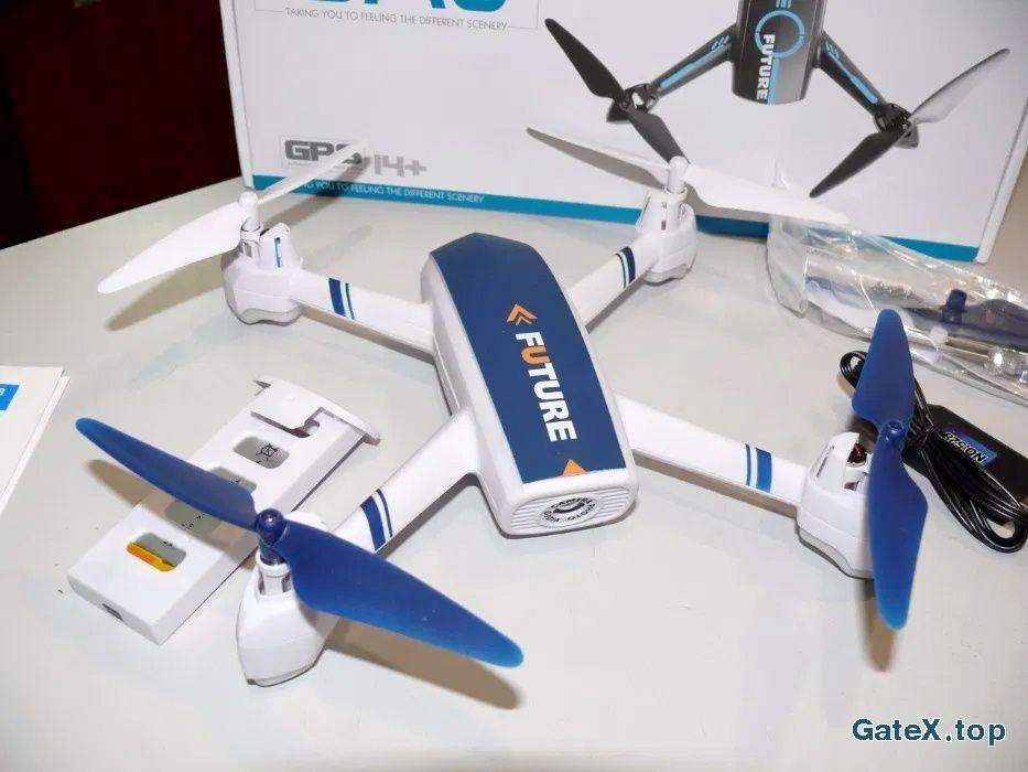 Квадрокоптер JXD528 с камерой WiFi, автовозвратом и удержанием высоты