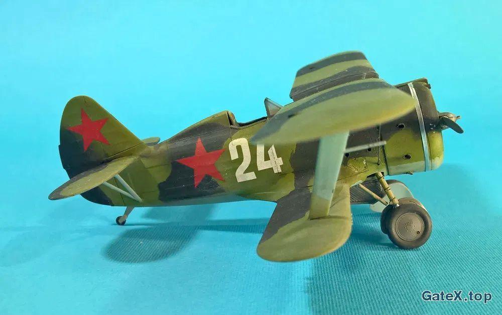 Модель самолета Поликарпов И-153
