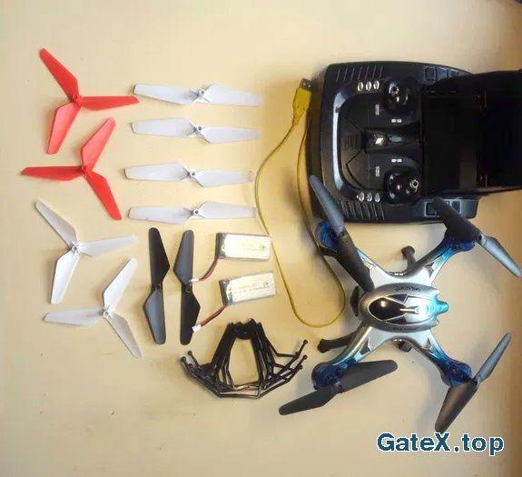 квадрокоптер H29G камера, пульт с экраном 5.8/2..4Ghz