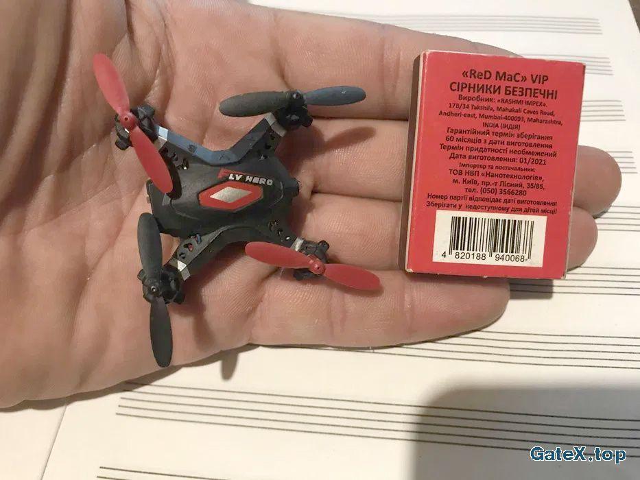 Мини Квадрокоптер FLY Hero Микро Дрон Micro Drone