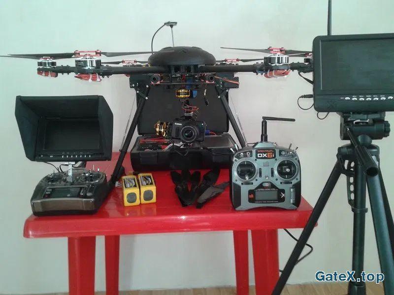 коптер для аэросъёмки