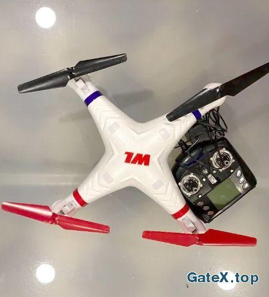 дрон в рабочем состоянии
