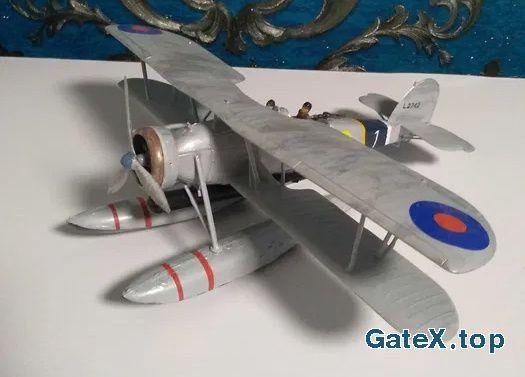 Збірні моделі Сборные модели літак самолет