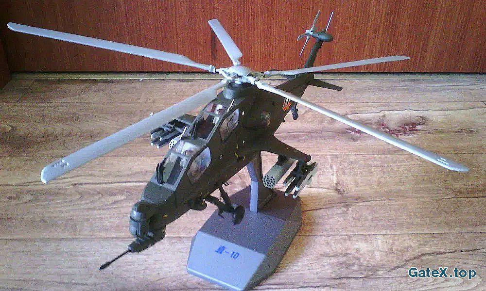 Эксклюзивная модель китайского боевого вертолета Чжи-10 (Zhi-10)