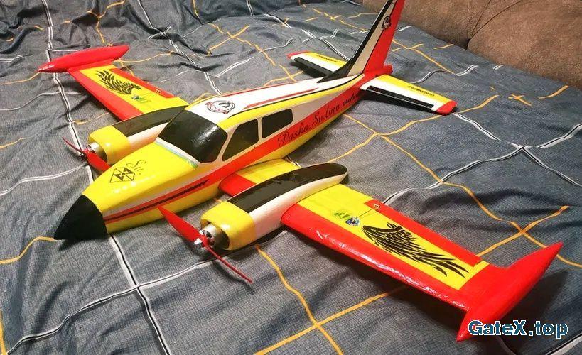 Радиоуправляемый самолёт cesna 410