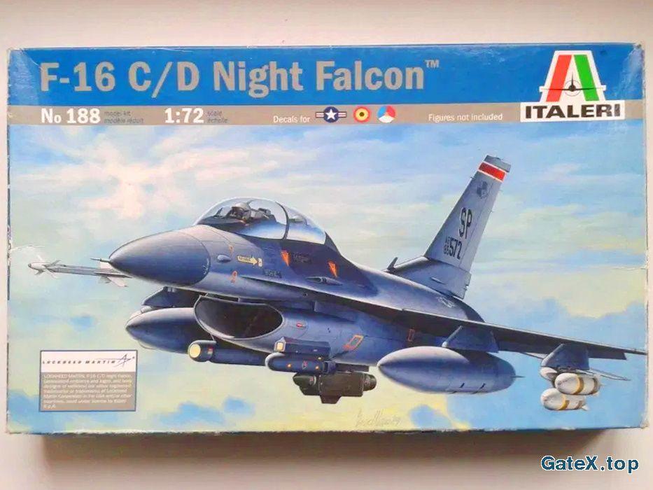 Сборная модель самолета F-16 C/D