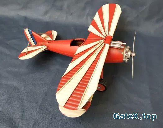 Японский аэроплан . Модель Металл Ручная работа