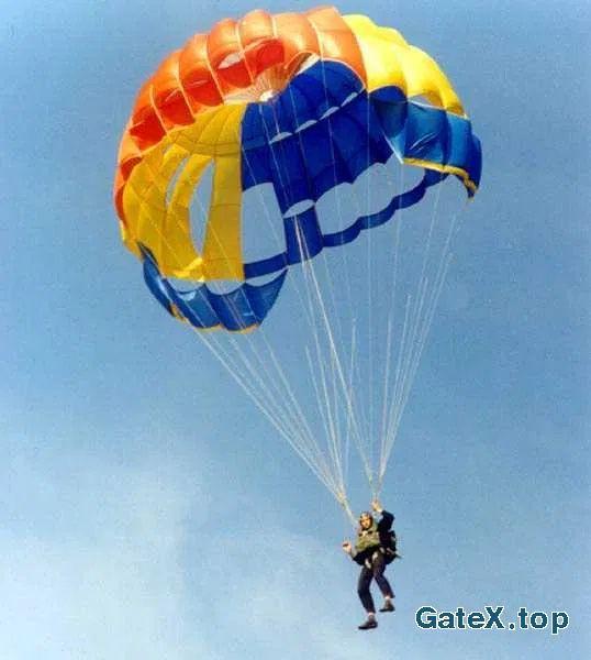 Купол парашюта УТ 15 се.5